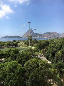 View from Hotel Novo Mundo